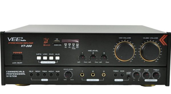 VEE VT-200 Karaoke Amplifier